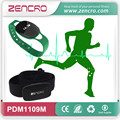 China manufacture high quality smart pedometer and calorie counter work with heart rate chest belt and bike speedmeter