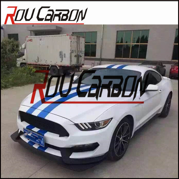 auto tuning parts fit for ford mustan g 2014+ model shelby gt350 style bumper front and rear