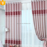 modern blackout polyester material designer emboss curtain fabric