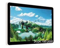 32'' Windows Media Player Video, Industrial Grade Waterproof LCD Touch Monitor