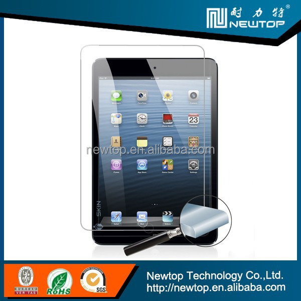 9h tempered glass screen protector anti-spy screen protector for laptop ipad mini 1 2 3
