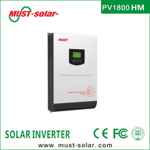Offgrid solar inverter PV1800 HM series system 3KVA 2400W Pure Sine Wave high frequency solar series
