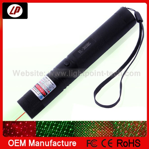 2014 Hot sale green laser pointer 500mw