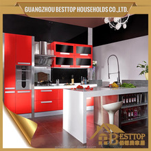 baked enamel Professional kitchen cabinet supplier from China