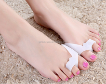 2015 hot selling custom Eco-friendly FDA food grade silicone toe spacers