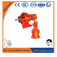 SEW equivalent Hydraulic cycloidal drive gearbox for concrete mixer gear motor