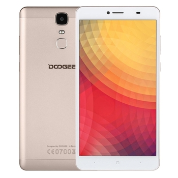 New Arrival Hot Selling Original China DOOGEE Y6 Max 3D Fingerprint Identification 6.5 inch 2.5D Android 6.0 4G Smart Phone