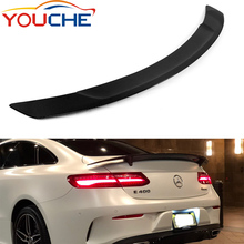 RT style carbon fiber rear trunk wings spoiler for Mercedes Benz E class W238 C238 2 door coupe 2016+
