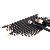 Professional 15pcs Makeup Brushes Set EyeShadow Eyeliner Eyebrow CosmeticTool Kits Make up Powder Foundation Lip Blending Brush