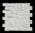 White marble split finished exterior wall stone tile stacked panel