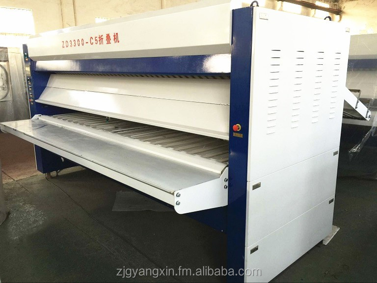 ZD3300-C5 hotel laundry service commercial bed sheet folder folding machine