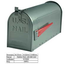 cheap wholesale american waterproof steel mailbox for sale