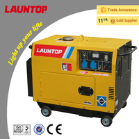 4200w silent type diesel gensets for sale