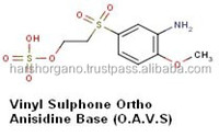 Exporter of Vinyl Sulphone Ortho Anisidine Base(O.A.V.S)