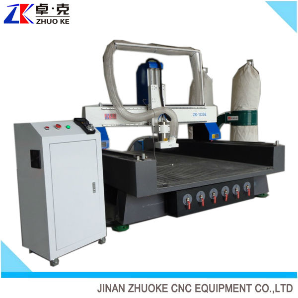 Plywood cnc router engraving cutting machine ZKM-1325B(1300*2500*500mm)