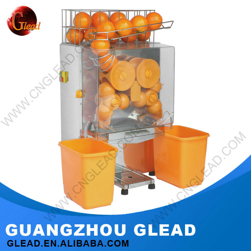 Grinding/Juicing Automatic Orange Juicer Squeezing Machine