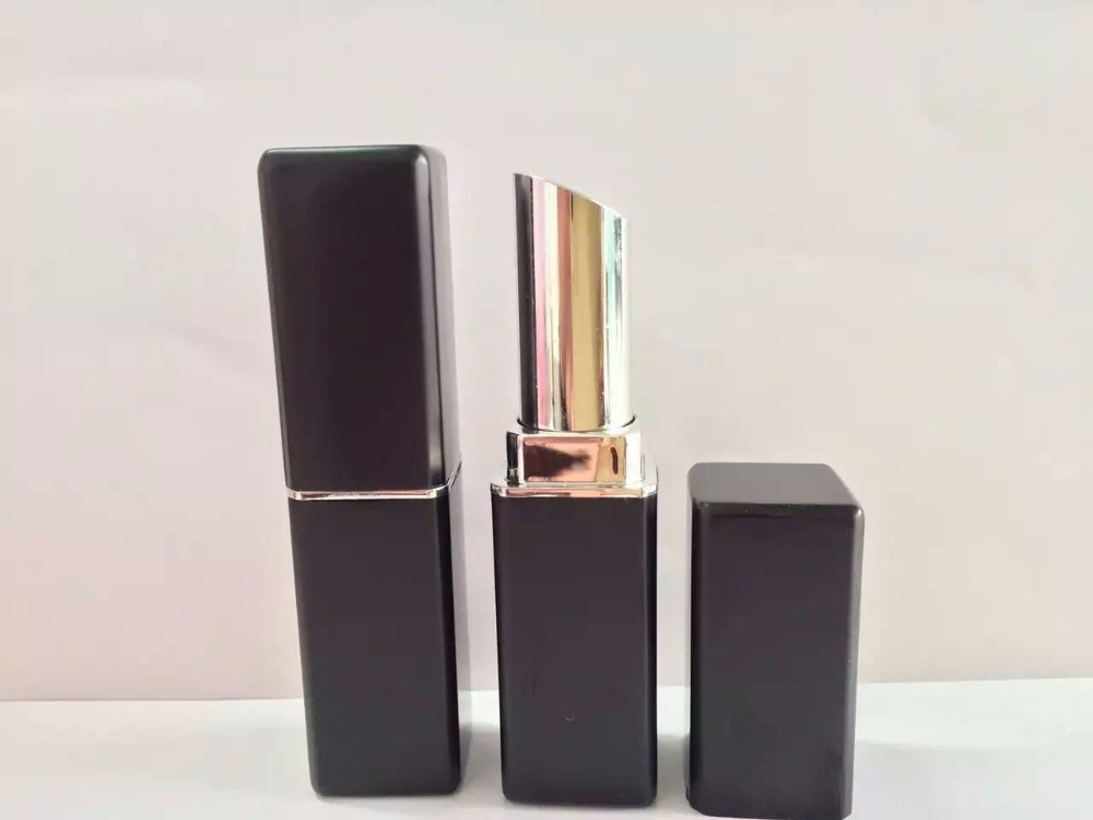 Lipstick packaging Empty Lip Gloss Cosmetics Container Square Tube