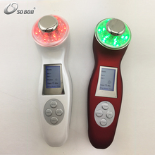 Portable beauty care tools handheld skin whitening led light therapy facial machines for home use