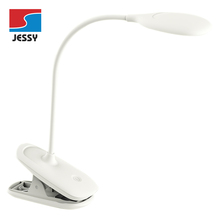 White 3.5W Battery Operated MINI Reading Table Lamp with USB