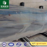 Natural White and Blue Magical Marble stone for luxury home and hotel