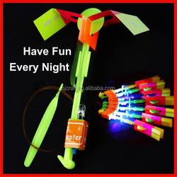 red/blue LED flash fly arrow helicopter HOT sell for kids SJ-FA01