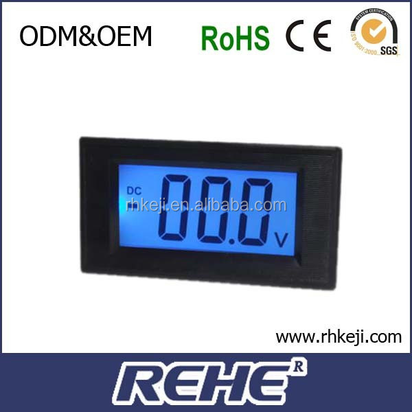 DC Power LCD Display Small Automotive Car Digital Voltmeter (D69-30)