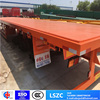 40FT 2 3 Axle Flatbed Platmorm