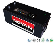 100% Tested High Performance N150 Truck Large Vehicle Battery 12V 150Ah Sealed Maintenance Free Heavy Duty