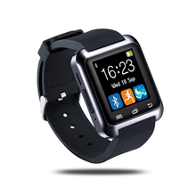 WristWatch Phone with Camera Touch Screen for Android OS and IOS Smart phone Smartphone Black U8 Bluetooth Smart Watch