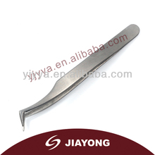 Mini New style stainless steel factory slanted tip tweezers