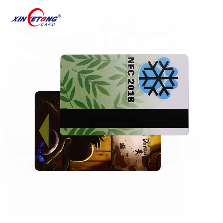 Logo Printing Top Quality LOCO Magnetic Stripe Plastic Hotel KeyCards