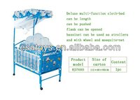 Blue color kid toy,hanging baby sleep swing bed (WJ276503)