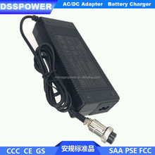 54.6V 2A 13s li-ion battery pack charger for electric scooter with CE SASO SONCAP certification