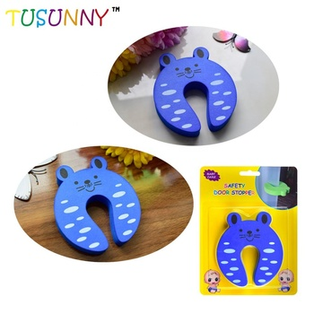 Hot Selling C Shape EVA Door Stop baby Security Wholesale Safety Door Stopper