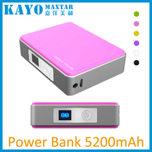 smartphone power bank 5200mAh with PICC insurance worldwide