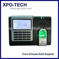 ZK Fingerprint Time Clock X638 Support ID Card Reader