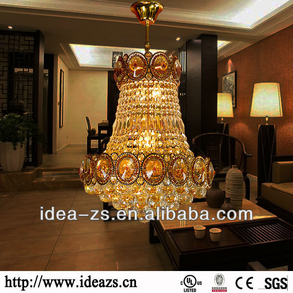 Crystal hall lighting, crystal decorative lamp, crystal chandelier sphere