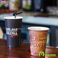 Cheap price printed hot drink paper cups