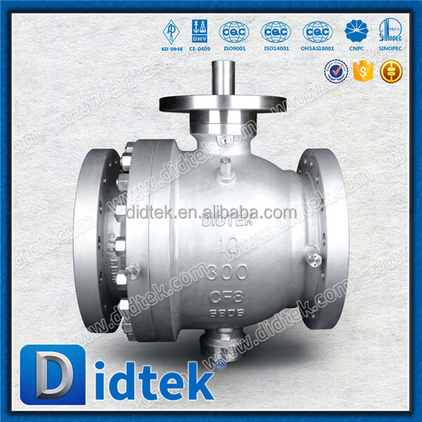 Cast Tested To API Standard 598 Trunnion Ball Valve