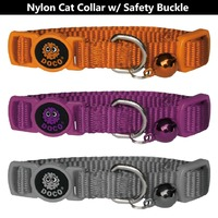 High safety Quick Release Nylon cat collar extra small Red