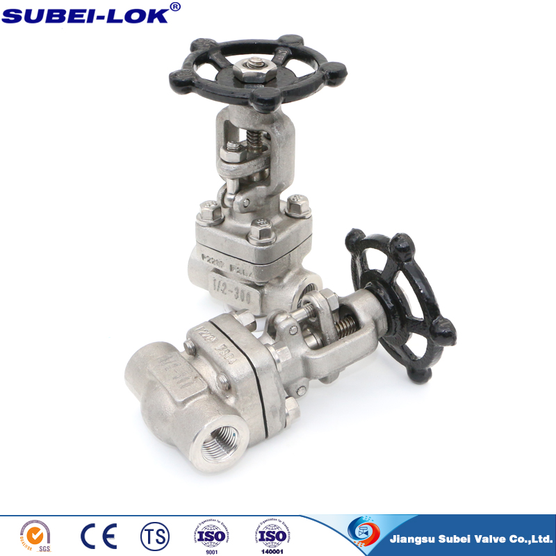 Integral Flange Forged Steel Gate Valve class 150 class300 class600 class900 class1500 China