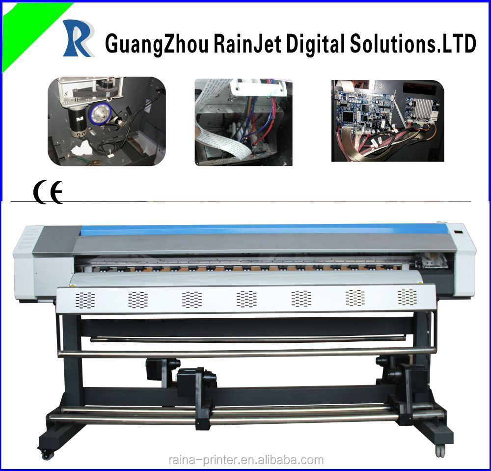 Guangzhou 1.8m large format banner printer with dx5 1440dpi
