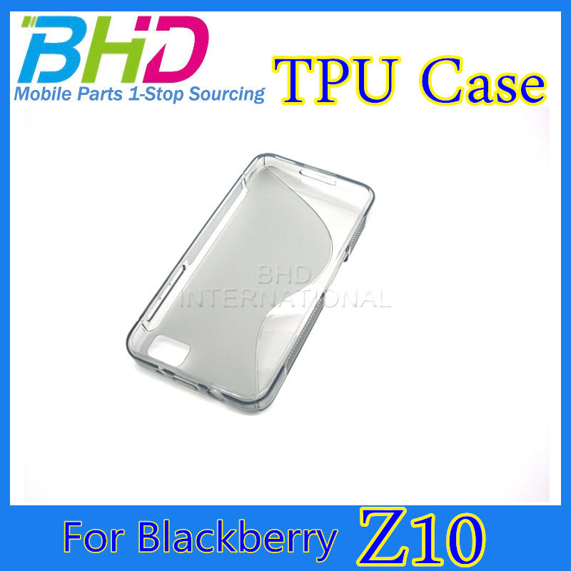 Hot selling TPU for blackberry z10 phone case