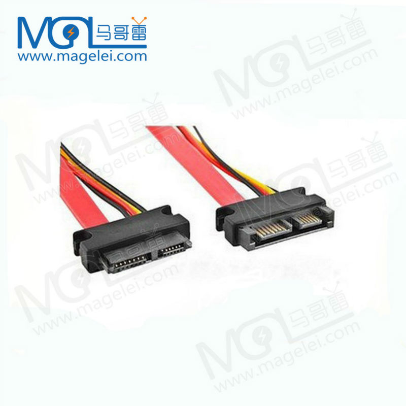 Slimline SATA Serial sata 7+6 pin power cable 50cm