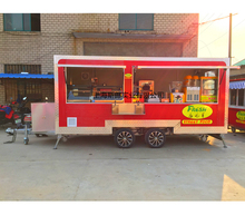 red food truck NEW 4M Enclosed Food Vending Mobile Kitchen Concession Catering Trailer SLUNG SL-6S