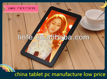 Cheapest 7 Inch Android 4.2 Support 3G/Wifi,Dual Camera Tablet PC With Hdmi Input