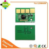 Useful top sell reset for lexmark e260 toner chip
