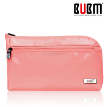 Cute Pink PU Clutch Cosmetic Bag For Lady