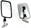 FLYQUICK Chrome ABS Motorcycle part Plating Rearview Mirror (ZF001-32)