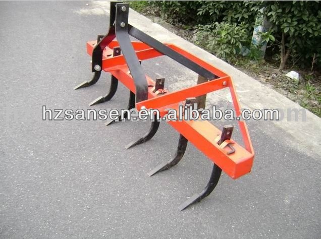tractor 3 point Rippers Cultivator; 6 tine ripper for farm tractors